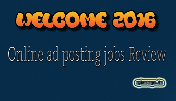 Online ad posting jobs