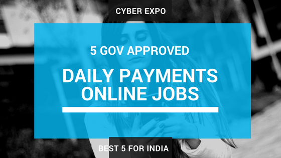 Daily Payments Online Jobs