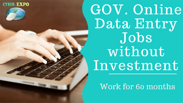 GOV. Online Data Entry Jobs without Investment DAILY BANK PAYMENT