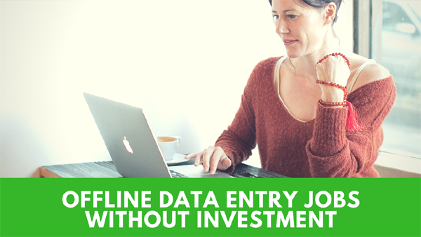 offline data entry jobs projects Weekly payment daily payment
